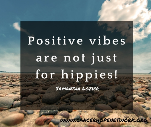 Positive vibes are not just for hippies!
