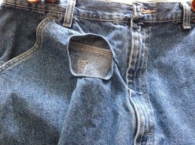 1. Hole In Pants