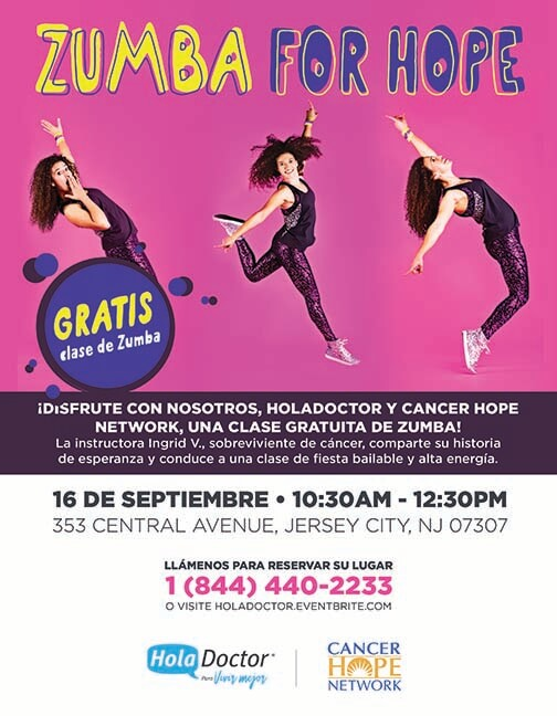 Zumba for Hope Sep 16 Flyer- SpanishWEB